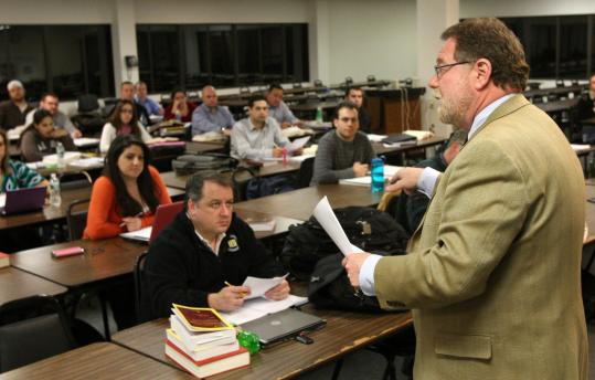 Jeffrey Kitaeff has seen enrollment triple within the past year for his bankruptcy law course at Massachusetts School of Law in Andover.