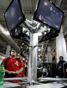Thousands filed through the Hynes Convention Center for this weekend's PAX East gaming event.