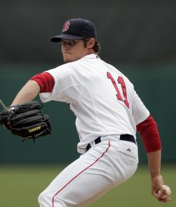 Clay Buchholz made up for two rocky early frames yesterday with 2 2/3 innings of sparkling work.