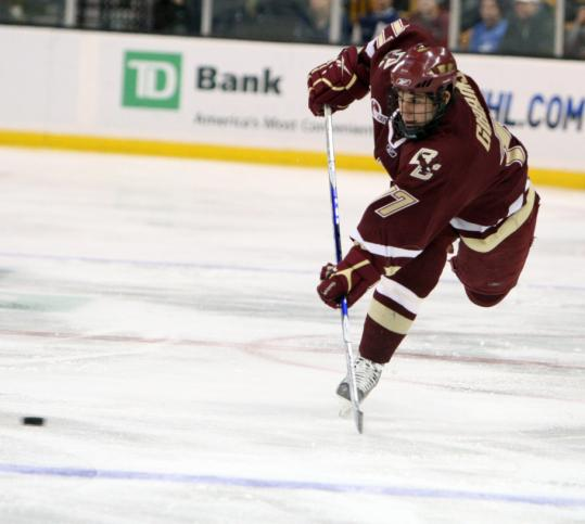 After a late-season slump, Brian Gibbons and BC's top unit are in top form.
