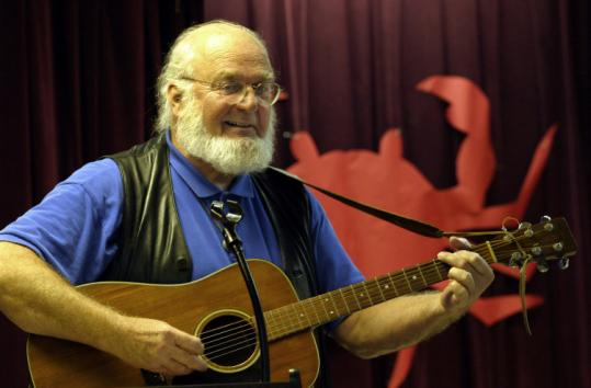 Tom Wisner recorded several albums over the years, including some with the talents of southern Maryland schoolchildren.