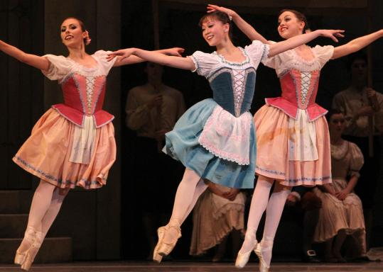 """The Boston Ballet is staging George Balanchine's production of the comedic ballet """"Coppélia."""""""