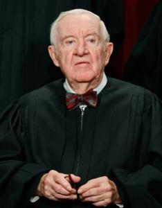 Justice John Paul Stevens has served on the Supreme Court since 1975.