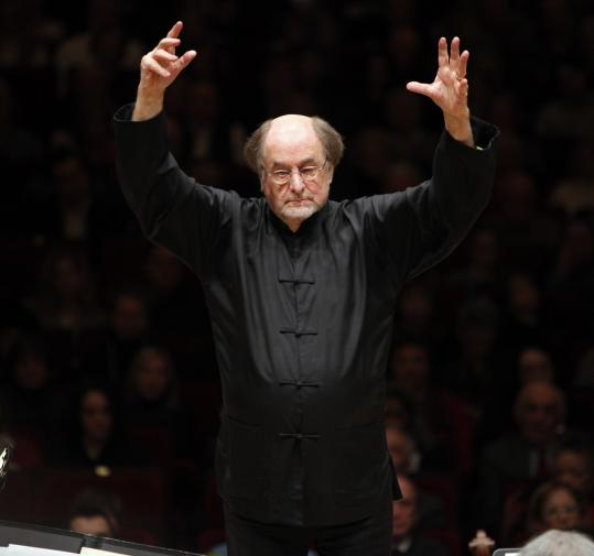 Sir Roger Norrington (seen here in New York) is a passionate and emotive conductor.