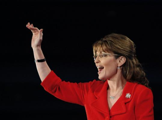Sarah Palin, 2008 vice presidential candidate, has her speech scheduled for 10 a.m. on Boston Common.