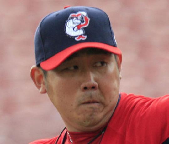 Daisuke Matsuzaka submitted a stellar outing for the PawSox.