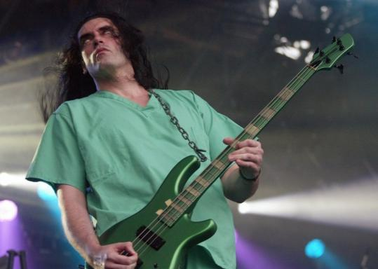 In 2003, Peter Steele performed with Type O Negative at a huge heavy metal festival in Finland.