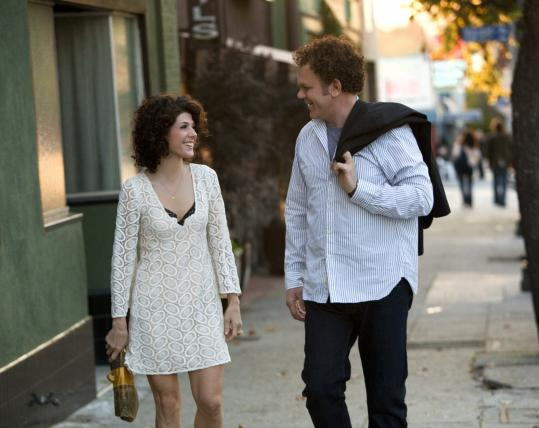 'Cyrus,' a comedy with Marisa Tomei and John C. Reilly, aims to fall somewhere between a romance and a thriller.