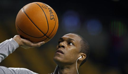 Rajon Rondo finished fifth in the Defensive Player of the Year voting, receiving 55 points to winner Dwight Howard's 576.