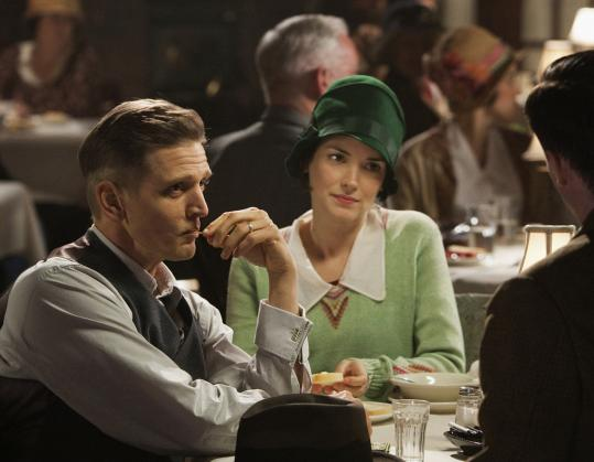 "Barry Pepper and Winona Ryder as Bill and Lois Wilson, in ""When Love Is Not Enough.''"