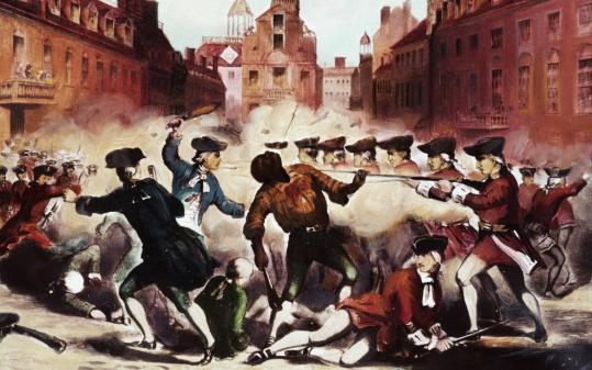 When the Redcoats infiltrated Boston - The Boston Globe