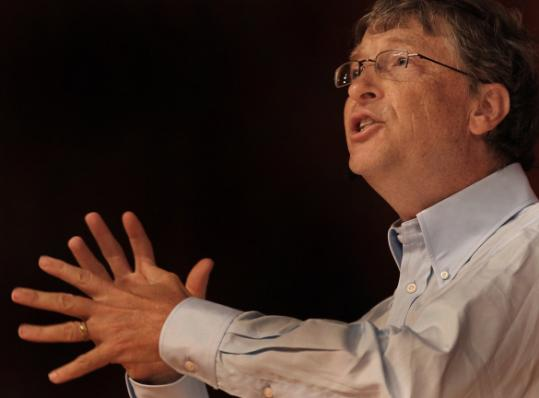 "Bill Gates, speaking at MIT, described his foundation's efforts to hold teachers accountable as ""the riskiest thing we are doing.''"