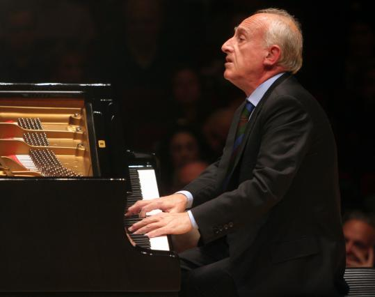 Maurizio Pollini (shown in New York in 2008) performed an all-Chopin program Sunday at Symphony Hall in Boston.