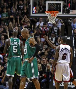 Ray Allen's missed free throws were only part of the Celtics' problems in Game 4.