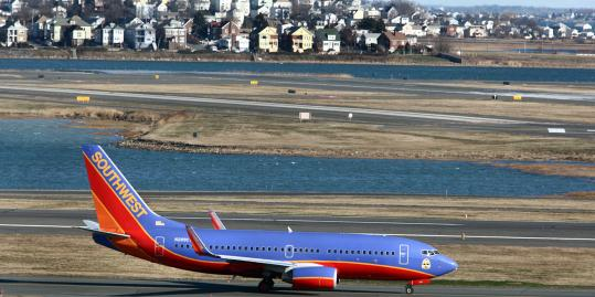 Southwest began service from Logan in August, with flights to Chicago Midway Airport and Baltimore/Washington International Thurgood Marshall Airport.