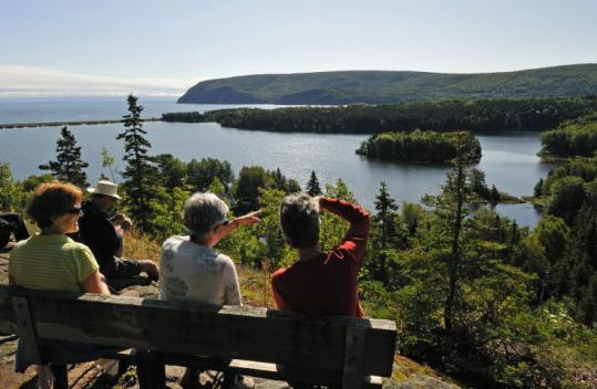 Ingonish is a rural community on the panoramic Cabot Trail, at the eastern entrance to Cape Breton Highlands National Park.