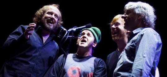 """Phish 3D'' focuses almost solely on the band performing and not much at all on the fans and the concert scene."