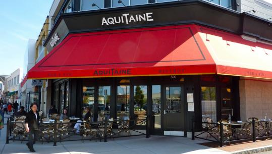 A third french restaurant from seth woods the boston globe for Aquitaine france cuisine