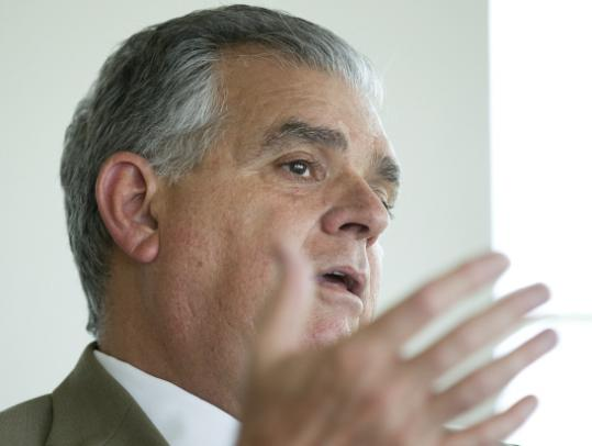 "Ray LaHood, US transportation chief, speaking to a gathering of students, academics, and entrepreneurs at MIT, said, ""These things can change, but it takes the people getting fired up about it.''"