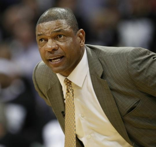 Doc Rivers is being diplomatic in his comments, but the disparity in fouls calls in this series has him agitated.