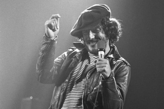 A young Bruce Springsteen (shown here in 1975) rocketed to fame after a 1974 Harvard Square gig that can now be heard in a recording.