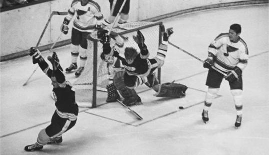 Bobby Orr's Stanley Cup-winning goal was quite a sight, and the sounds were fantastic, too.