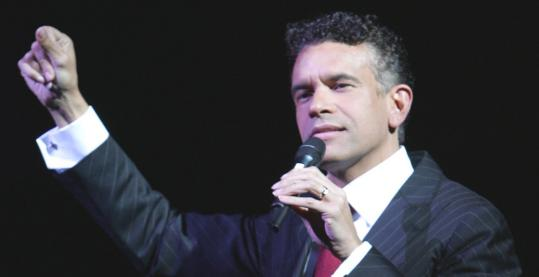 Brian Stokes Mitchell&#8217;s Saturday program included songs by Rodgers &amp; Hammerstein, George Gershwin, and Cole Porter.