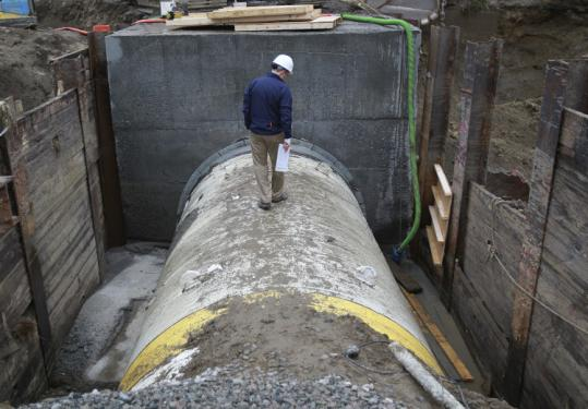 One of the recent infrastructure failures includes the water pipe rupture in Weston.