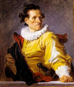 """The Warrior'' is one of 14 so-called ""fantasy portraits'' painted by Jean-Honoré Fragonard in the 1760s."