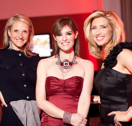 Above (from left): Mel Robbins, Lisa Pierpont, and Bianca de la Garza.