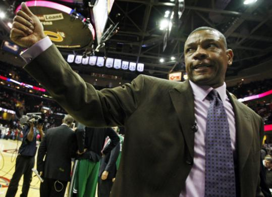 Doc Rivers gives a thumbs-up leaving Quicken Loans Arena Tuesday, and he hopes it was goodbye to Cleveland, too.