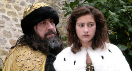 "Dominique Thomas as the title character and Lola Creton as his last wife in Catherine Breillat's ""Bluebeard.''"