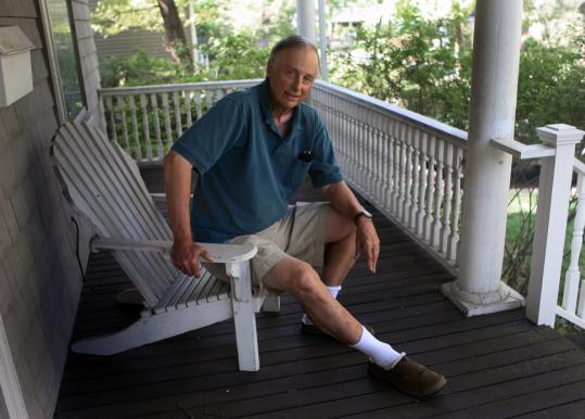 Paul Dudek, 70, a retired Newton architect, says his life improved dramatically after he was finally diagnosed and treated with medication for RLS.