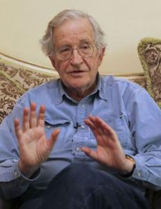 MIT scholar Noam Chomsky has been critical of Israel's policies toward the Palestinians.