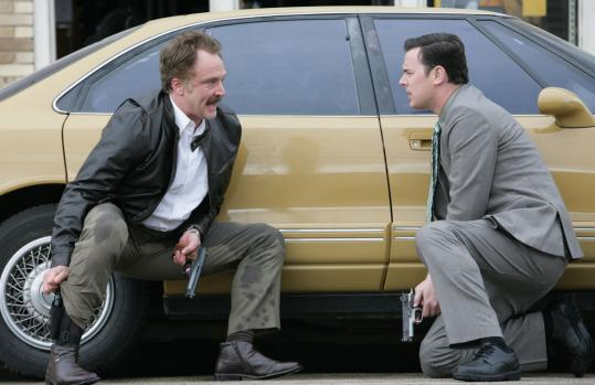 Bradley Whitford (left) and Colin Hanks play polar opposites in the new lighthearted cop series from Fox.