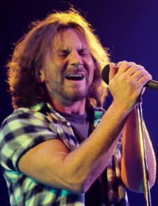 Eddie Vedder and Pearl Jam were at TD Garden Monday night — as was Theo Epstein.