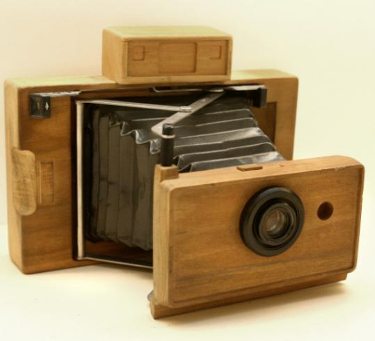 The 1960s wood prototype.