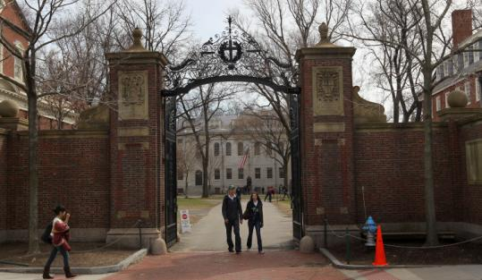 A new report says endowments like Harvard's made too many risky investments in the run-up to the financial crisis.