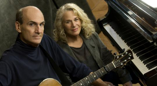 In June, James Taylor and Carole King play the TD Garden.
