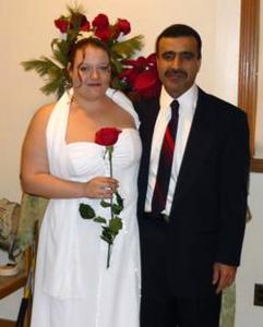 Pir Khan, a cousin of Aftab Ali Khan, also married an American bride: Rebecca May Barry, in 2008. At a hearing Tuesday in Khan's case, Barry shed tears and avoided reporters.