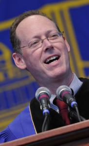 Dr. Paul Farmer lauded Americans' contributions to the relief effort in Haiti.