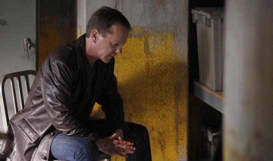 "Jack (Kiefer Sutherland) remained alone on ""24.''"