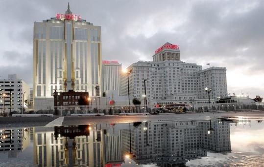 Once the only place in the nation outside Nevada with legalized gambling, Atlantic City is now beset by competition on all sides, with as many as three of its 11 casinos in jeopardy of closing.