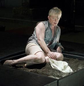 """Allyn Burrows stars in """"Timon of Athens,'' presented by Actors' Shakespeare Project."""
