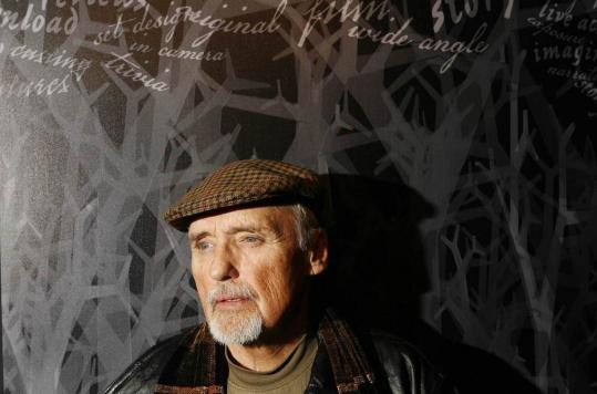 """Dennis Hopper evolved into a solid — and sought after — character actor later in his career, such as his 2008 role in """"Hell Ride'' which he promoted at the Sundance Film Festival."""