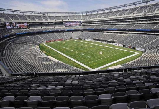 New Meadowlands Stadium will offer cold comfort to Super Bowl fans in 2014.