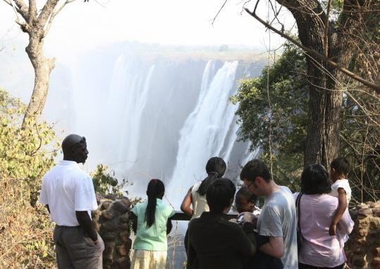 South Africa's neighbors are hoping the World Cup will mean more visitors to attractions such as Victoria Falls in Zimbabwe.