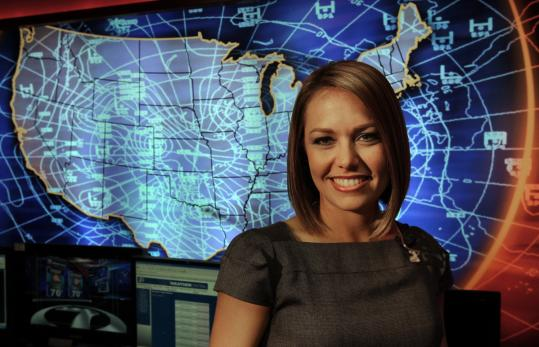 Meteorologist Dylan Dreyer has helped WHDH-TV boost morning ratings among viewers ages 25-54.