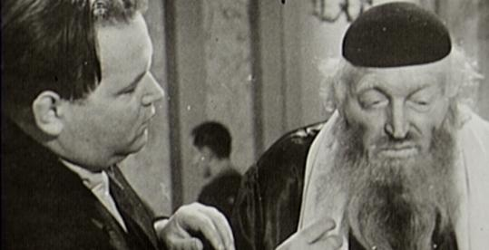 "Veit Harlan (left) directing Werner Krauss in ""Jew Suss.'' Harlan was twice tried and acquitted for crimes against humanity for making the film."