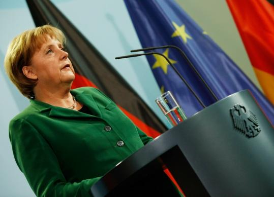 The resignation of President Horst Koehler occurred on top of a much-criticized start for the second-term government of Chancellor Angela Merkel (above), an embarrassing state election loss in May, the euro debt crisis, and the resignation of a prominent conservative state governor.